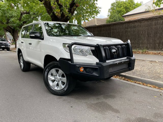 Pre-Owned Toyota Landcruiser Prado GDJ150R GX Hawthorn, 2018 Toyota Landcruiser Prado GDJ150R GX White 6 Speed Sports Automatic Wagon