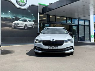 2021 Skoda Superb NP MY21 206TSI DSG SportLine White 6 Speed Sports Automatic Dual Clutch Wagon.