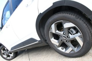 2020 Hyundai Venue QX MY20 Elite (Black Interior) Polar White 6 Speed Automatic Wagon