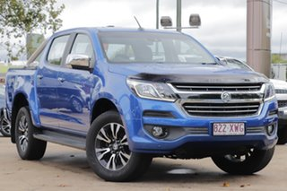 2017 Holden Colorado RG MY17 LTZ Pickup Crew Cab Blue 6 Speed Sports Automatic Utility.