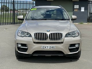 2013 BMW X6 E71 LCI MY1112 xDrive40d Coupe Steptronic Beige 8 Speed Sports Automatic Wagon.