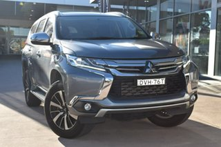 2017 Mitsubishi Pajero Sport QE MY17 GLX Grey 8 Speed Sports Automatic Wagon.