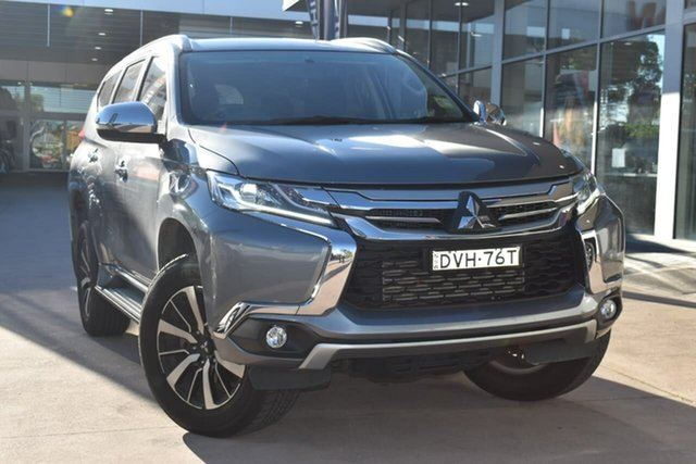 Used Mitsubishi Pajero Sport QE MY17 GLX Blacktown, 2017 Mitsubishi Pajero Sport QE MY17 GLX Grey 8 Speed Sports Automatic Wagon