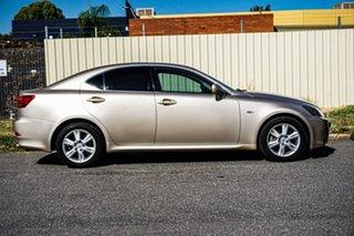 2006 Lexus IS GSE20R IS250 Prestige Gold 6 Speed Sports Automatic Sedan.