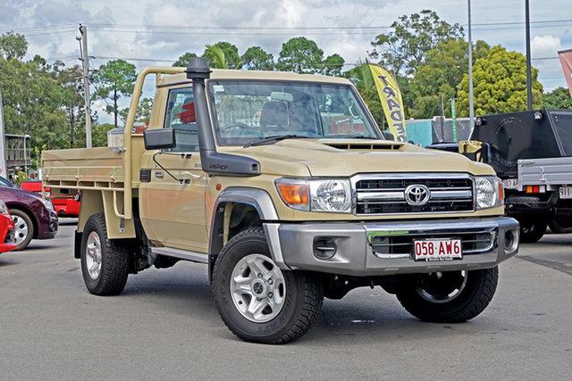 Used Toyota Landcruiser VDJ79R GXL Chandler, 2020 Toyota Landcruiser VDJ79R GXL Beige 5 Speed Manual Cab Chassis