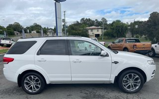 2012 Ford Territory SZ Titanium Seq Sport Shift White 6 Speed Sports Automatic Wagon.