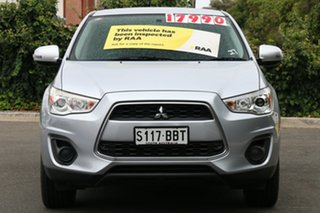 2013 Mitsubishi ASX XB MY14 2WD Cool Silver 6 Speed Constant Variable Wagon