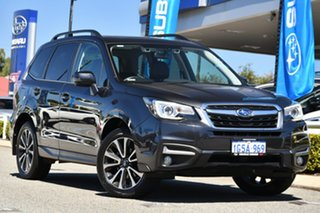 2018 Subaru Forester S4 MY18 2.5i-S CVT AWD Dark Grey 6 Speed Constant Variable Wagon.