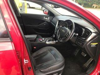 2013 Kia Optima TF MY13 Platinum Red 6 Speed Sports Automatic Sedan.
