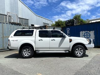 2011 Ford Ranger PK XLT Crew Cab White 5 Speed Automatic Utility.