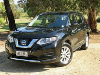 2017 Nissan X-Trail T32 Series II ST X-tronic 2WD Black 7 Speed Constant Variable Wagon.