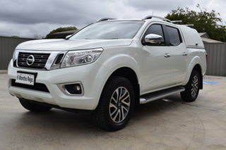 2016 Nissan Navara D23 ST-X White Diamond 7 Speed Sports Automatic Utility