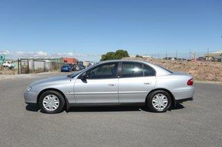 2002 Holden Commodore VX II Executive Silver 4 Speed Automatic Sedan