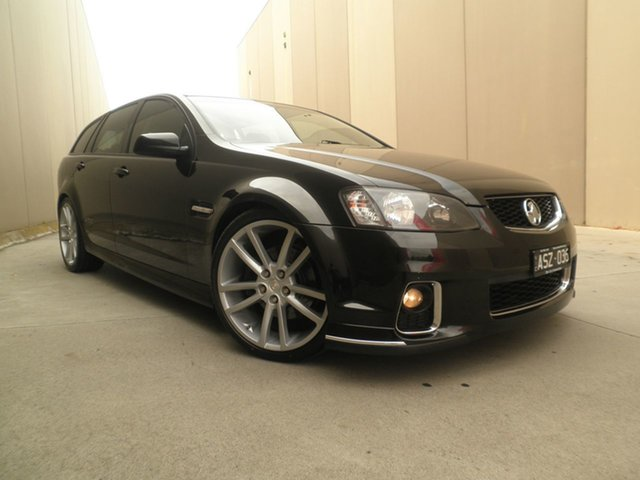 Used Holden Commodore VE II MY12 SS Sportwagon Cheltenham, 2012 Holden Commodore VE II MY12 SS Sportwagon Phantom Black 6 Speed Manual Wagon