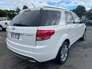 2012 Ford Territory SZ Titanium Seq Sport Shift White 6 Speed Sports Automatic Wagon
