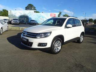 2013 Volkswagen Tiguan 5N MY14 132TSI DSG 4MOTION Pacific Candy White 7 Speed Automatic Wagon