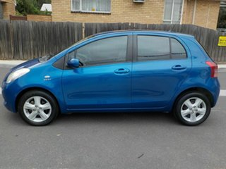 2008 Toyota Yaris NCP90R Rush Blue 4 Speed Automatic Hatchback