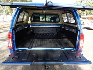 2011 Nissan Navara D40 MY10 ST-X Blue 6 Speed Manual Utility