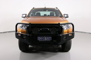 2018 Ford Ranger PX MkII MY18 Wildtrak 3.2 (4x4) Orange 6 Speed Automatic Dual Cab Pick-up.