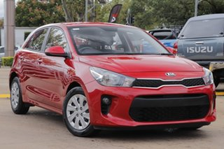 2019 Kia Rio YB MY19 S Red 4 Speed Sports Automatic Hatchback.