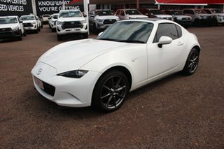 2017 Mazda MX-5 ND SKYACTIV-MT White Nova 6 Speed Manual Convertible.