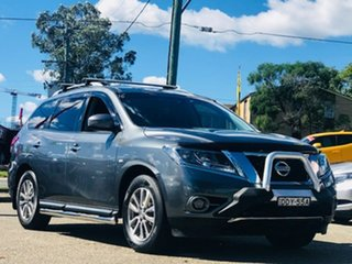 2015 Nissan Pathfinder R52 MY15 ST X-tronic 4WD Grey 1 Speed Constant Variable Wagon