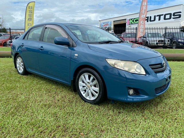 Used Toyota Corolla ZRE152R Conquest Berrimah, 2007 Toyota Corolla ZRE152R Conquest Blue 6 Speed Manual Sedan