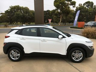2021 Hyundai Kona Os.v4 MY21 2WD Atlas White, Mica Premium 8 Speed Constant Variable Wagon.