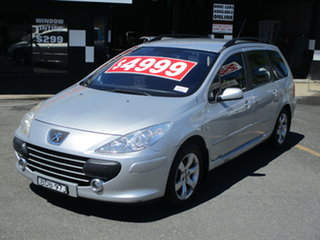 2007 Peugeot 307 MY06 Upgrade XSE HDi 2.0 Touring Silver 6 Speed Tiptronic Wagon
