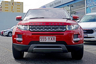 2013 Land Rover Range Rover Evoque L538 MY13 TD4 CommandShift Pure Red 6 Speed Sports Automatic.