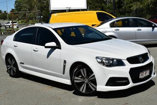 2015 Holden Commodore VF MY15 SS White 6 Speed Automatic Sedan.