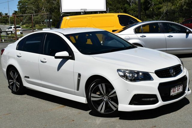 Used Holden Commodore VF MY15 SS Underwood, 2015 Holden Commodore VF MY15 SS White 6 Speed Automatic Sedan