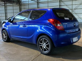 2011 Hyundai i20 PB MY11 Active Blue 5 Speed Manual Hatchback