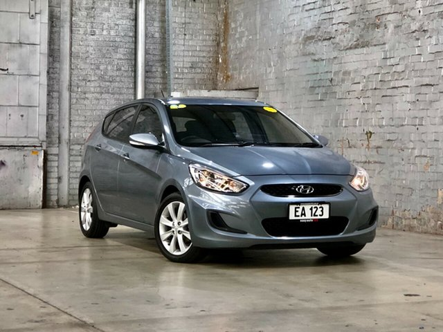 Used Hyundai Accent RB5 MY17 Sport Mile End South, 2017 Hyundai Accent RB5 MY17 Sport Grey 6 Speed Sports Automatic Hatchback