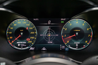 2021 Mercedes-Benz C-Class C205 801MY C43 AMG 9G-Tronic 4MATIC Obsidian Black 9 Speed