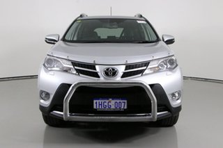 2014 Toyota RAV4 ASA44R Cruiser (4x4) Silver 6 Speed Automatic Wagon.