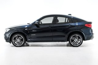 2017 BMW X4 F26 xDrive35d Coupe Steptronic Blue 8 Speed Automatic Wagon