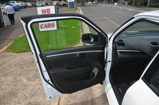 2013 Suzuki Swift FZ MY13 GL White 4 Speed Automatic Hatchback