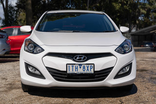 2013 Hyundai i30 GD Active Creamy White 6 Speed Sports Automatic Hatchback