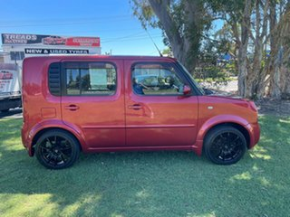 2006 Nissan Cube BZ11 Red 4 Speed Automatic Wagon
