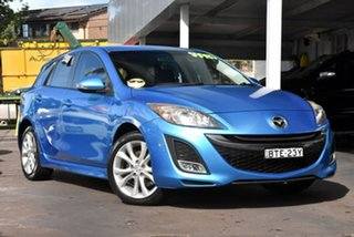 2010 Mazda 3 BL10L1 SP25 Blue 6 Speed Manual Hatchback.