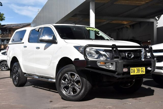 Used Mazda BT-50 UR0YG1 GT Waitara, 2017 Mazda BT-50 UR0YG1 GT White 6 Speed Sports Automatic Utility