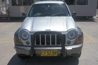 2005 Jeep Cherokee KJ MY2005 Sport Silver 5 Speed Automatic Wagon.