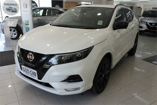 2020 Nissan Qashqai J11 Series 3 Midnight Edition Ivory Pearl 1 Speed Constant Variable Wagon.