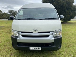 2018 Toyota HiAce KDH221R MY16 SLWB French Vanilla 5 Speed Manual Van.