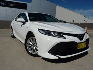 2020 Toyota Camry AXVH71R Ascent Diamond White 6 Speed Constant Variable Sedan Hybrid