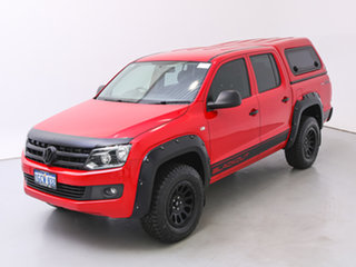 2016 Volkswagen Amarok 2H MY16 TDI420 Core Edition (4x4) Red 8 Speed Automatic Dual Cab Utility