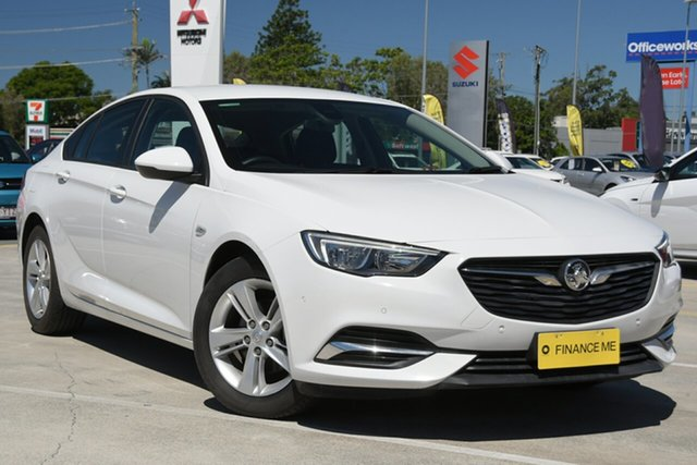 Used Holden Commodore ZB MY18 LT Liftback Aspley, 2018 Holden Commodore ZB MY18 LT Liftback White 9 Speed Sports Automatic Liftback