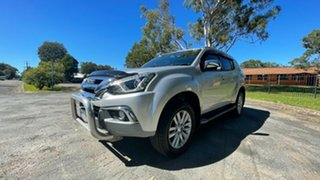 2018 Isuzu MU-X MY18 LS-T Rev-Tronic 4x2 Silver 6 Speed Sports Automatic Wagon
