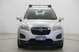 2016 Holden Trax TJ MY16 LS Silver 6 Speed Automatic Wagon.